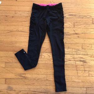 Lorna Jane zipper leggings - Small